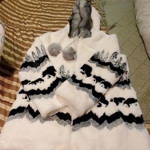 Black Mountain Faux Fur Jacket